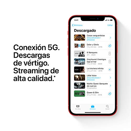 Nuevo Apple iPhone 12 (128 GB) – (Product) Red