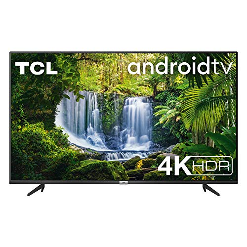 TCL 55P615 – Televisor 55 pulgadas, Resolución 4K HDR, Android TV, Micro Dimming Pro, Dolby Audio, Google Asistant…